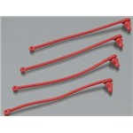 Traxxas Body Clip Retainer Red Spartan (4)