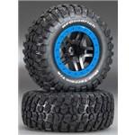 Traxxas Tire & Wheel Assy, Sct Split Bf Goodrich Mud Terrain Km2