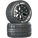 """Bandito MT 2.8"""" Truck 2WD Mntd Re C2 Black (2)"""