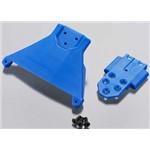 RPM Front Bulkhead LCG Slash 4x4 Blue