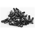 M3 Plastic Bent Rod Ends w/Axial Width Balls
