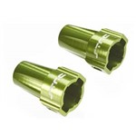 Alum Re Lock-Outs Green Axial SCX10