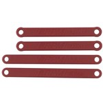 Heavy Duty Camber Links Rustler/Stampede 2WD Red
