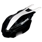 Traxxas Canopy Front Black/White Aton