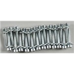 Socket Head Servo Mntng Screws (24)