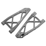 ARRMA Front Lower Suspension Arms Nero (2)