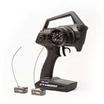 Ctx8000 2.4Ghz Fhss 2-Channel Pistol Radio W/ 2 Receivers