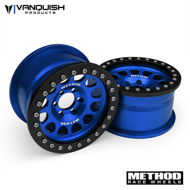 "Vanquish Products Method 2.2 Race Wheel (1.2"" Wide) 105 Blue/Black Anodized"