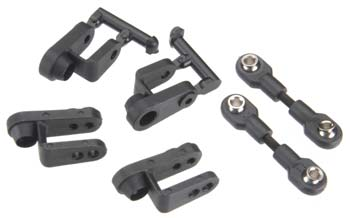 Traxxas Servo Horns Steering Long (2) Short (2)