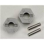 Hex Whl Hub 2.5x10mm Fr Rustler/Stampede (2)