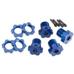 Anodized Whl Hubs+Hex Kit 17mm (4)