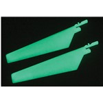 E-Flite Lower Main Blade Set,Glow in the Dark (1 pr): BMCX