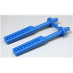 Long Body Mounts Blue T/E-Maxx