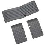 Skid Plate Set T-Maxx/E-Maxx Black (3)