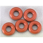 Silicone O-Ring P-3 Red