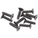 Hex Socket Tapping Flat Head M2.6x10mm Blk(10)