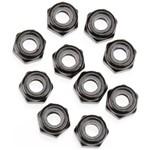 Axial Nylon Locking Hex Nut M3 Black (10)