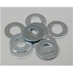 Washer Silver M5x10x.5 (10)