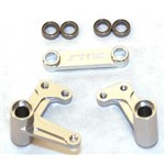 Alum Steering Bellcrank System w/Bearings Rust