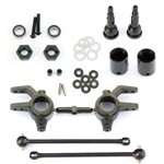 6851X M6 Fr Driveshaft/Steering Block 6mm Slash Stam