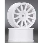 Wheels 12-Spoke White (2)