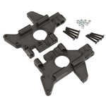Rear Bulkheads T/E-Maxx Black