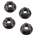 ARRMA Serrated Flange Wheel Nut 4mm (4)